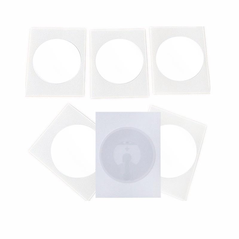 Single 13.56mhz ntag215 paper sticker
