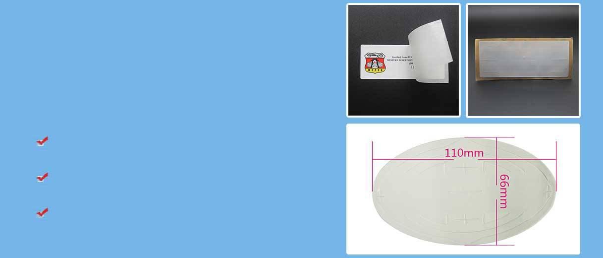 Étiquette de pare-brise RFID