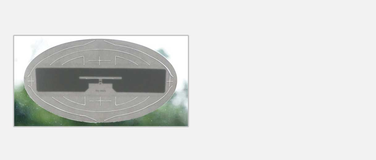 RFID 앞 유리 태그