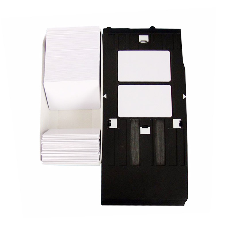 Inkjet cards and trays