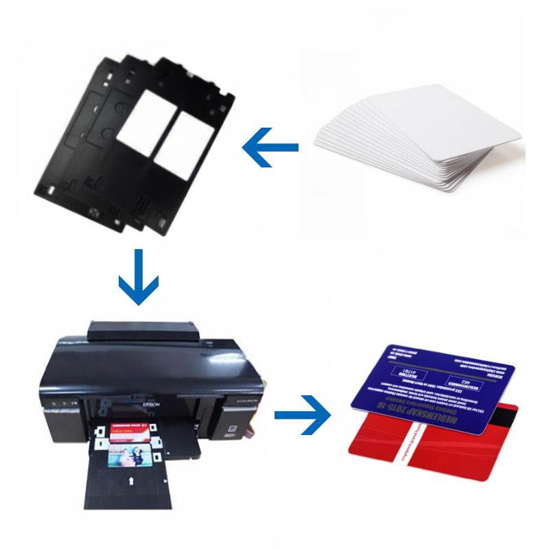 Inkjet cards and inkjet printers