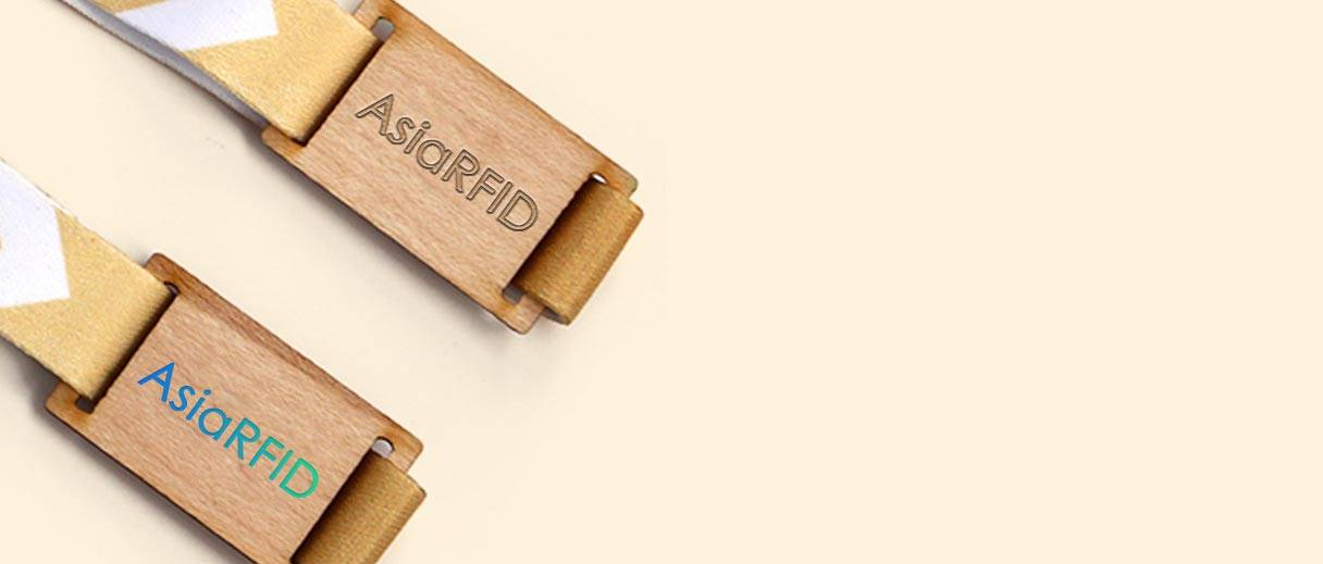 RFID wooden wristband