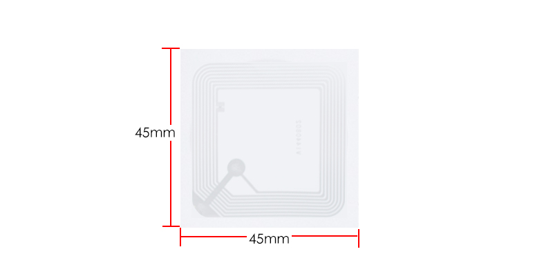 NTAG215 NFC Blank Sticker size:45*45
