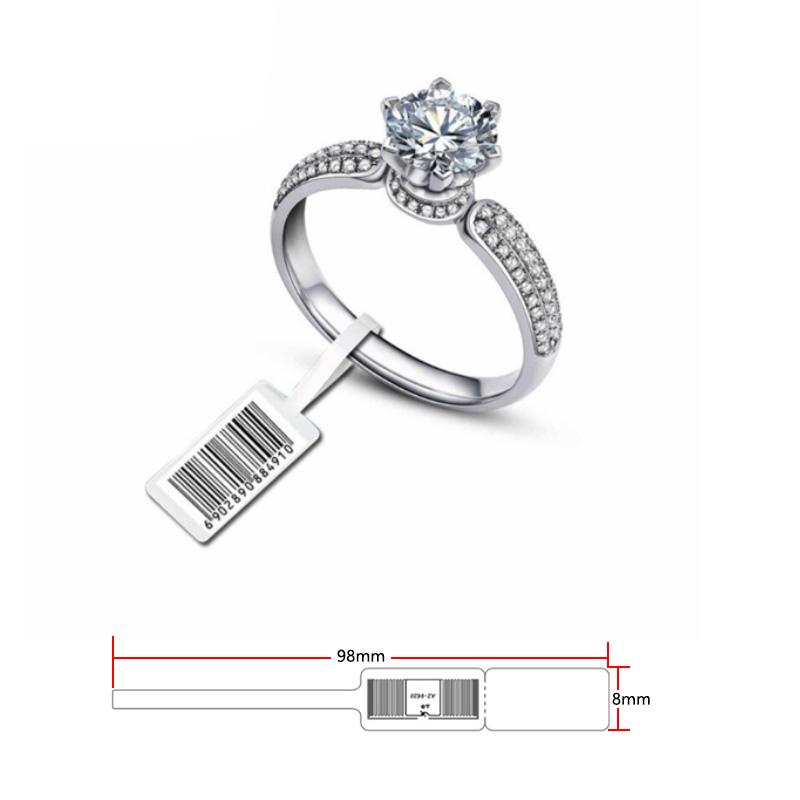 RFID jewelry tag 98*8mm