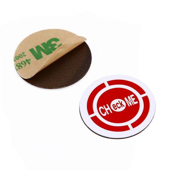 Étiquette anti-métal NFC 3m