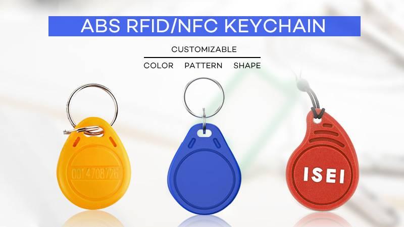 ABS NFC keychain