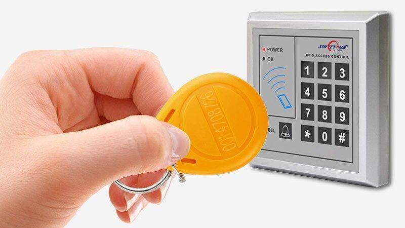 Llavero RFID con cerradura