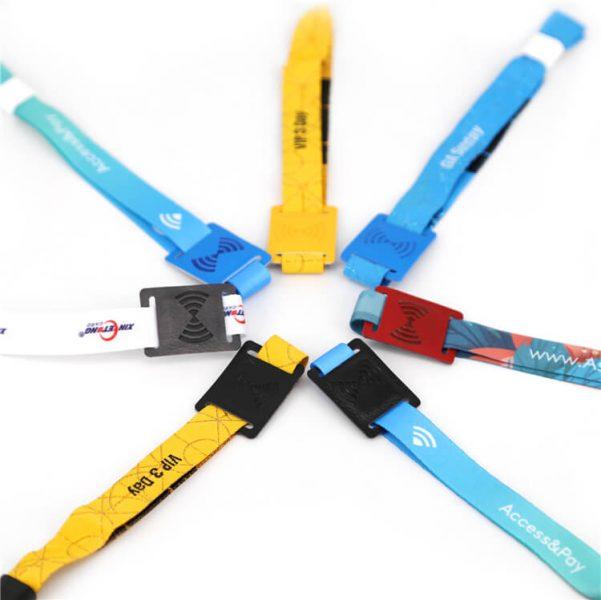 Bracelet en cuir PU RFID
