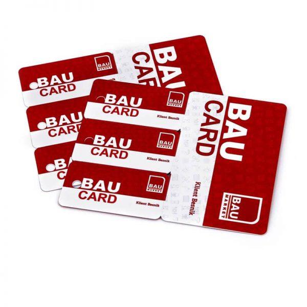 Rfid membership card triple