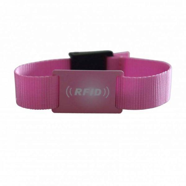 hf fabric rfid wristband font
