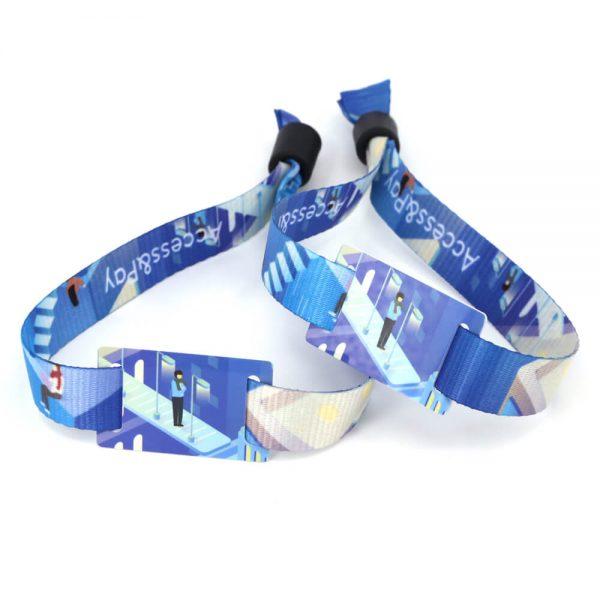 nfc fabric wristband