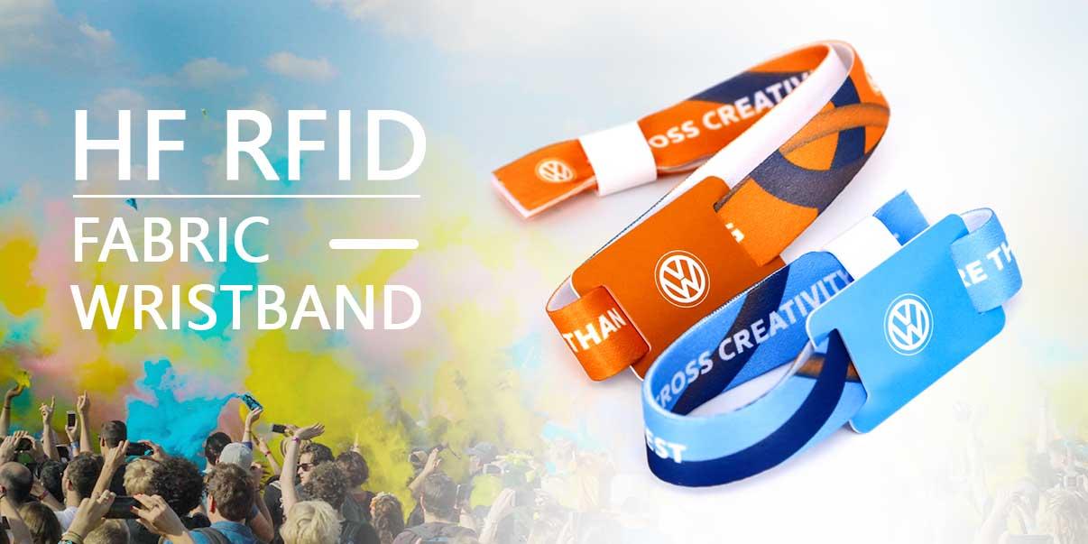 RFID-Gewebearmband