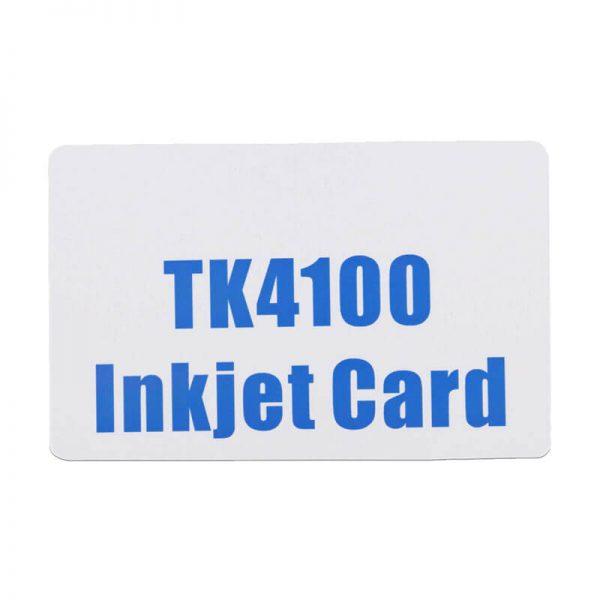 tk4100インクジェットカード