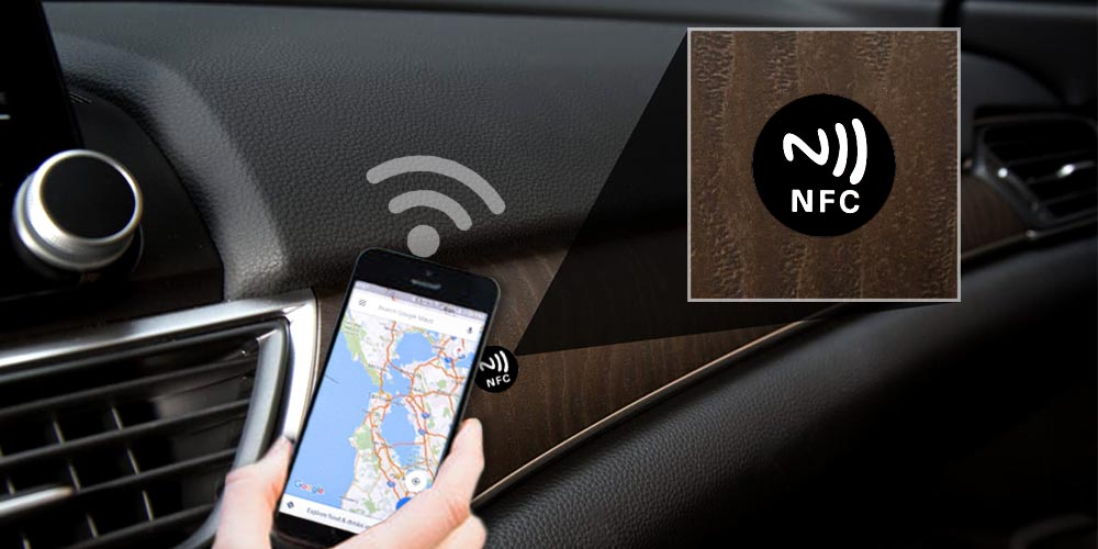 Try nfc mobile phone quick navigation