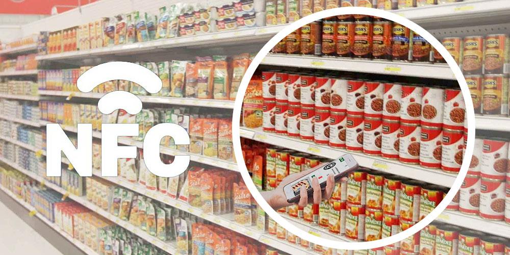 NFC-Tags für den Einzelhandel