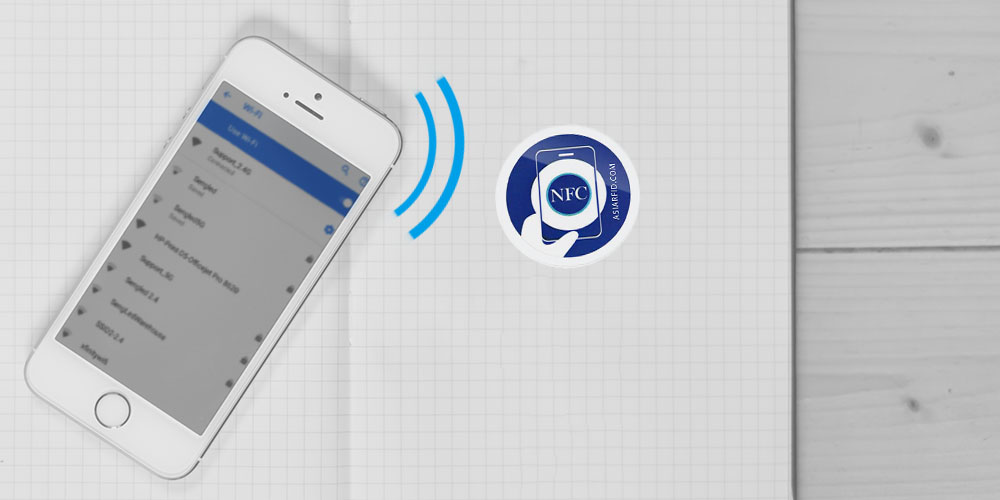 Share your wifi password with NFC tag