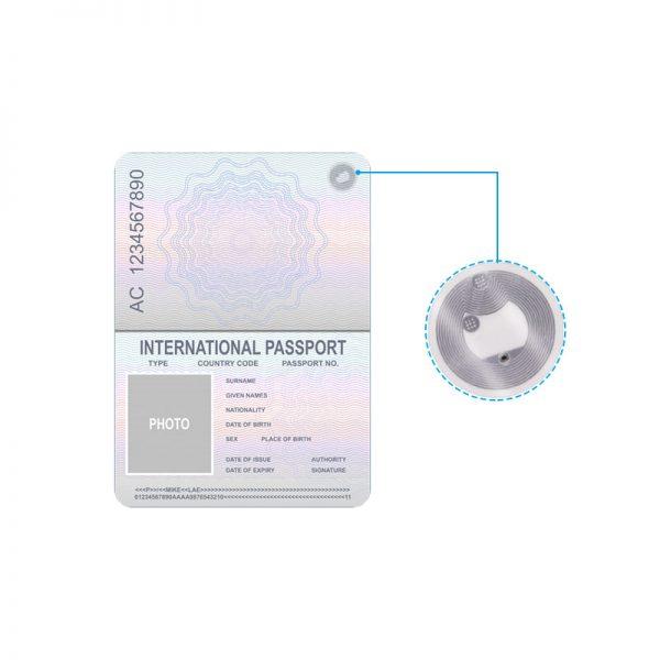 Passeport NFC