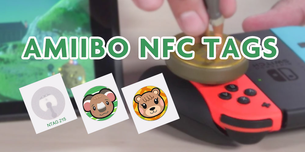 make your own Amiibo NFC tags