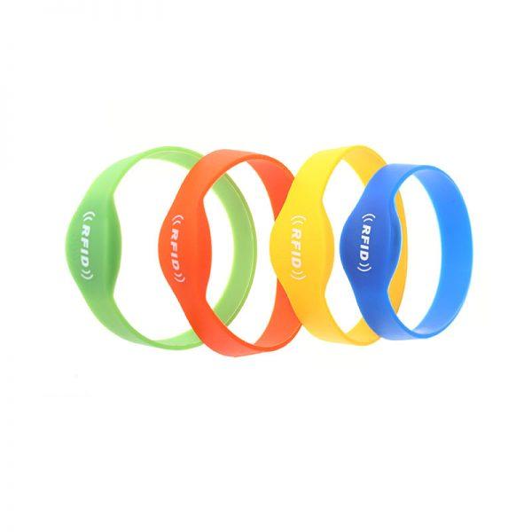 Oval Close-Loop-Silicone RFID Wristband