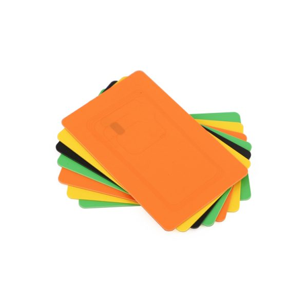 Blank Colored PVC Cards